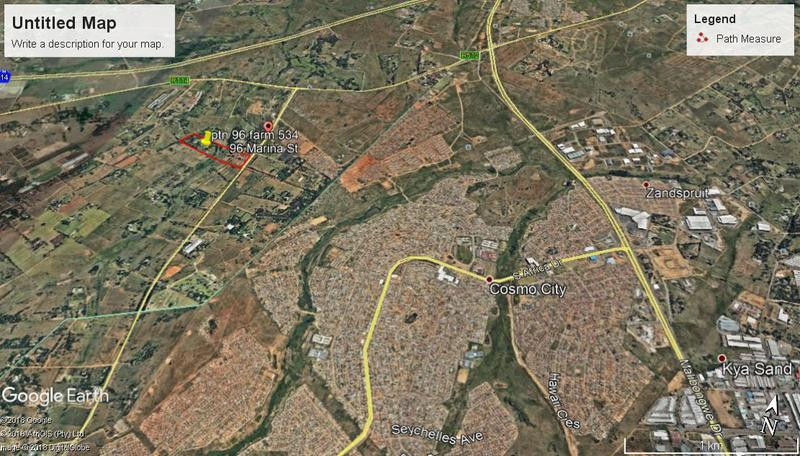 Commercial Land For Sale in Nooitgedacht, Nooitgedacht