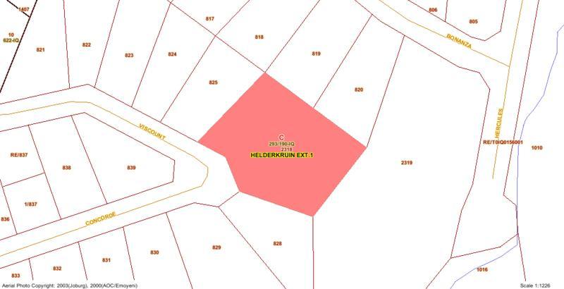 Residential 3 Proclaimed stand For Sale in Helderkruin, Roodepoort